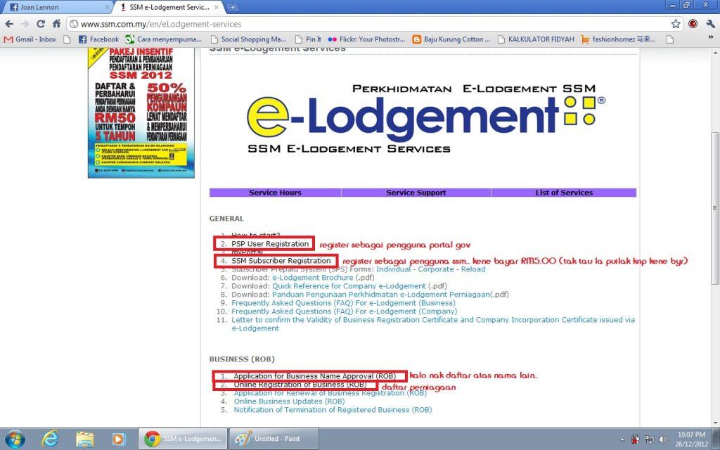 daftar ssm online